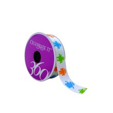 "Robot Grosgrain Ribbon by Celebrate It 360°, 7/8"" x 5yd."