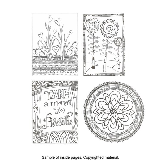 Coloring Books For Adults At Michaels Pages
