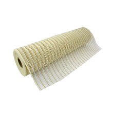"Jute & Cotton Mesh Ribbon by Celebrate It, 12"" x 19ft."