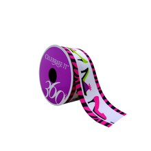"Pink Shoes Grosgrain Ribbon by Celebrate It 360°, 1 1/2"" x 4yd."