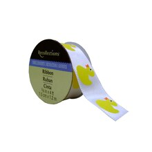 Yellow Ducks Satin Ribbon by Recollections
