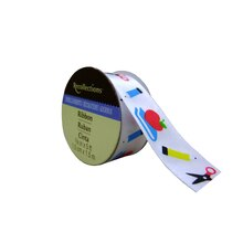 White Stationery Satin Ribbon by Recollections