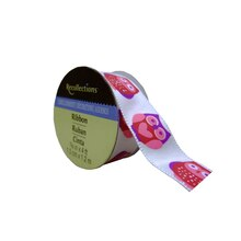 Pink Owl Satin Ribbon by Recollections
