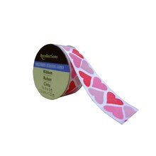 Multicolor Hearts Satin Ribbon by Recollections