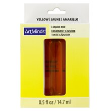 Yellow Liquid Dye by ArtMinds