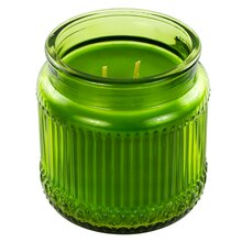 Bamboo Willow Ribbed Jar Candle by Ashland Decor Scents