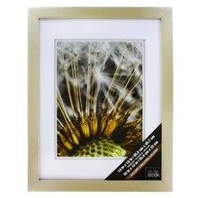 "Champagne Gallery Wall Frame with Double Mat by Studio Décor, 10"" x 13"""