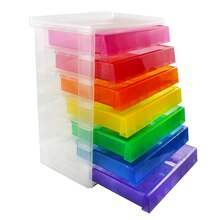 Craft carts drawer units michaels for Michaels craft storage cart
