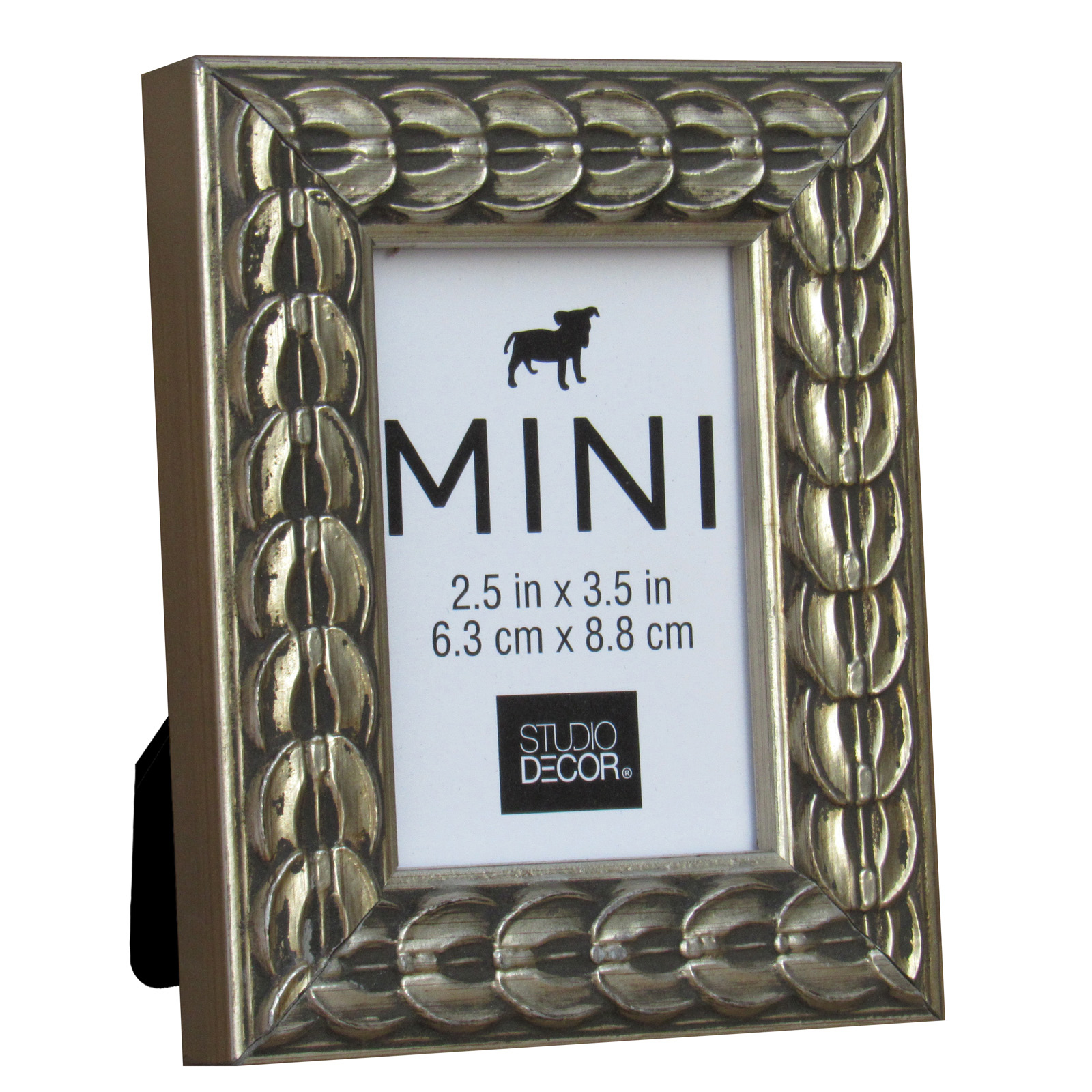 silver coin mini frame by studio dcor