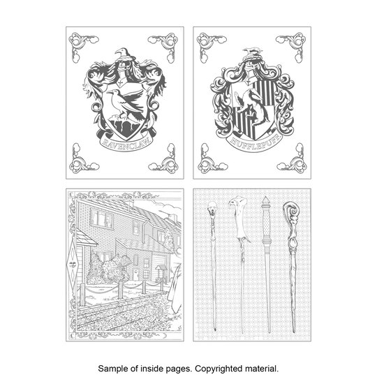 harry potter coloring book - Harry Potter Coloring Book