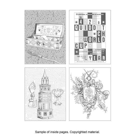 harry potter coloring book - Design Coloring Books