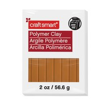 2 oz. Polymer Clay by Craft Smart, Light Brown
