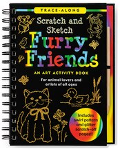 Scratch & Sketch Furry Friends: An Art Activity Book