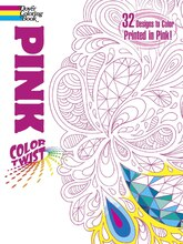 COLORTWIST Pink Coloring Book