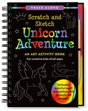 Scratch & Sketch Unicorn Adventure: An Art Activity Book