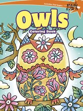 Spark Owls Coloring Book