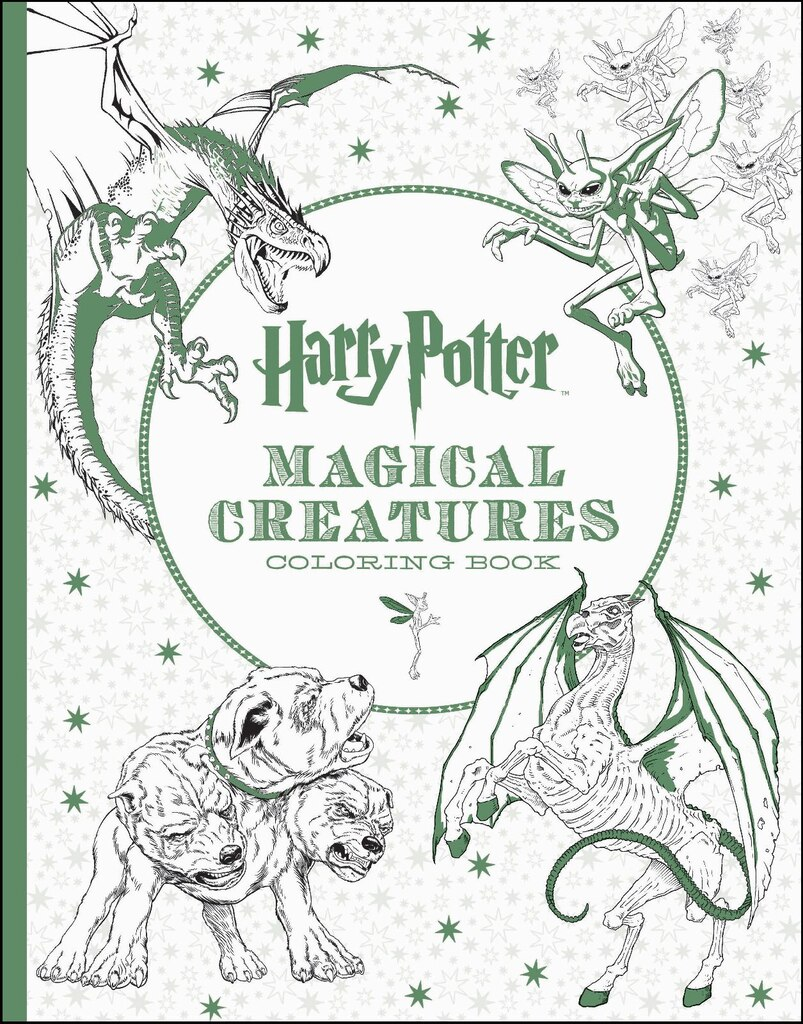 harry potter magical creatures coloring book - Coloring Books
