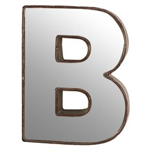 "Make Market 3D Metal With Mirror Front Letter, 9"" B"