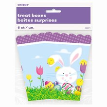 Easter Popcorn Treat Boxes, 6ct