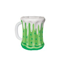 St. Patrick's Day Beer Mug Inflatable Cooler, 18""