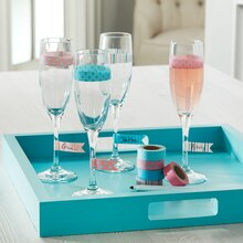 Washi Tape Wine Glasses, medium