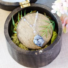 Druzy Necklace, medium