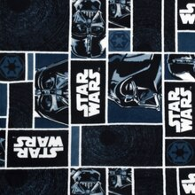Star Wars Darth Vader Blocks Fleece