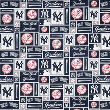 New York Yankees Patchwork MLB Cotton