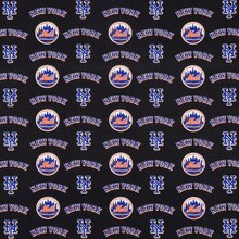 New York Mets MLB Cotton