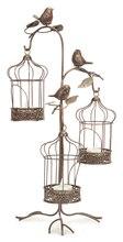 """3 Tiered Birdcage Lantern Holder, 17.5"""""""