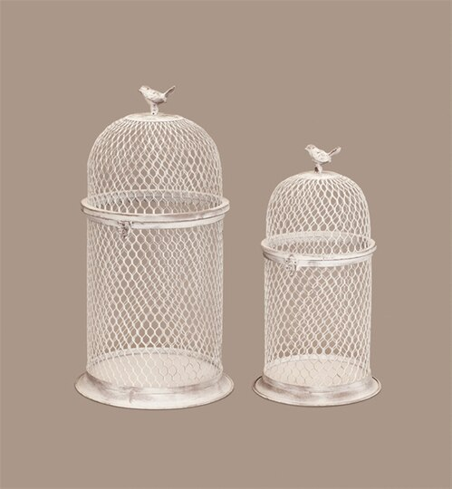 Chicken Wire Bird Cage (Set Of 2