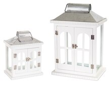 French Door Lanterns (Set of 2)