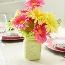 Bright Easter Daisy Floral Arrangement, medium