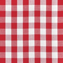 """1"""" Red Gingham"""
