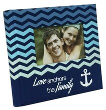 Caroline Love Anchors the Family Photo Album by Recollections