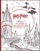 Harry Potter Magical Places & Characters Coloring Book