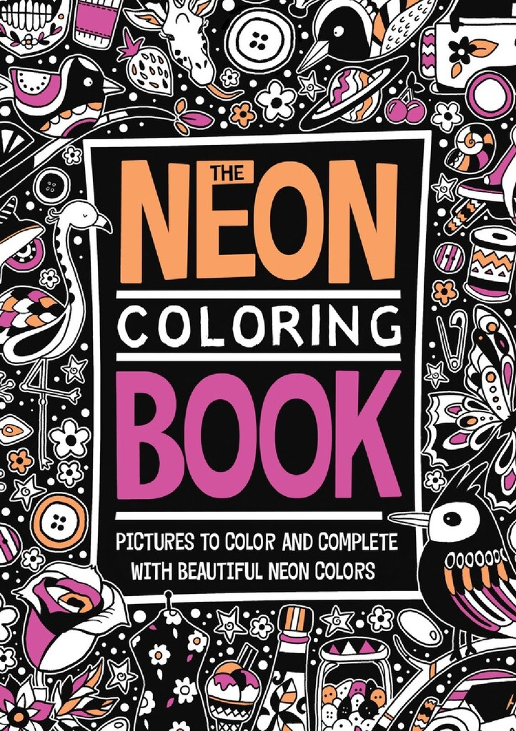 the neon coloring book - Where To Buy Coloring Books For Adults