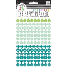Create 365 The Happy Planner Colorful Dots Stickers