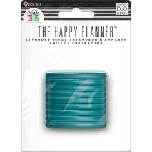 Create 365 The Happy Planner Expander Rings, Teal