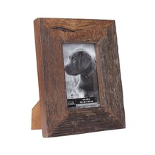 """Dark Weathered Wood Frame by Studio Decor Expressions, 4"""" x 6"""""""