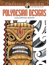 Creative Haven Polynesian Designs Coloring Book