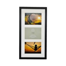 Black 3-Opening Collage With Mat Tyler Frame by Studio Décor