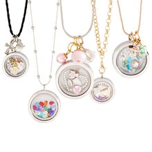 Story Lockets™ Rhinestones Necklace, medium