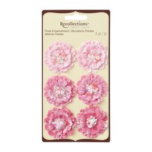 Beaded Fabric Floral Embellishments by Recollections Signature