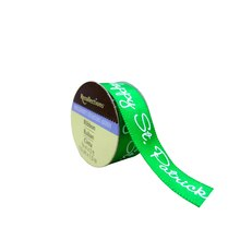 Green Happy Saint Patrick Ribbon by Recollections