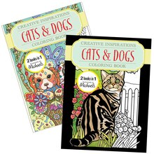 Creative Inspirations Cats & Dogs Coloring Book