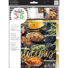 Create 365 The Happy Planner Recipe Organizer Extension Pack