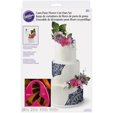 Wilton Gum Paste Flower Cut-Outs Set
