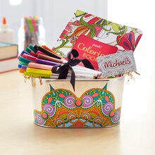 Teacher Appreciation Coloring Tin, medium
