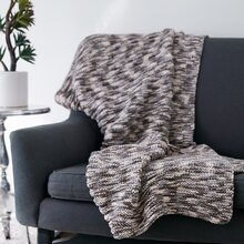 Bernat® Maker Home Dec™ Ridges Blanket, medium